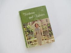 Vintage 1960's Fashions and Fabrics Home Economics by vintagenelly