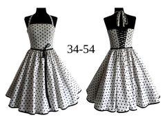 Nähanleitungen Mode - Schnittmuster +Bild Nähanleitung Kleid Gr. 34-54 - ein Designerstück von Laveya bei DaWanda