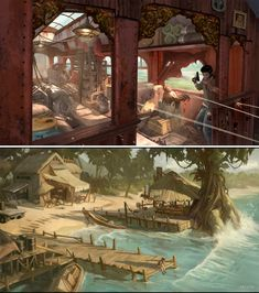 Uncharted 2 concept art