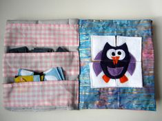 Quiet book sturdy fabric activities to keep by TheFruitfulVine