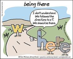 Being There - Writers Write Grammar Jokes, Chemistry Jokes, Science Jokes, English Language Jokes, English Memes, French Language, English Grammar, Punctuation Humor, Biology Humor