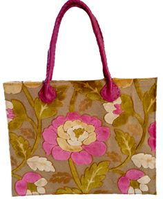 Wildeve velvety Pink flower tote bag Morocco, Pink Flowers, Tote Bag, Bags, Shoes, Totes, Handbags, Zapatos, Shoes Outlet