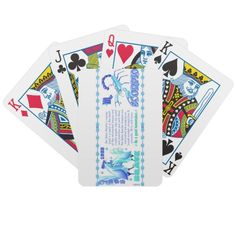 Valxart 1993 2053 WaterRooster zodiac Scorpio Bicycle Playing Cards