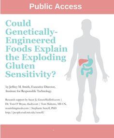 GMOS Linked to Exploding Gluten Sensitivity Epidemic