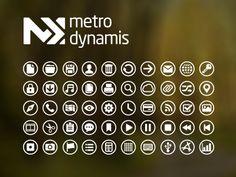 Metro Dynamis New Icons  by Jose E. Gonzalez Modecir