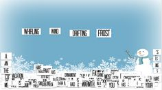 Winter Magnetic Poetry with Google Slides from Shake Up Learning
