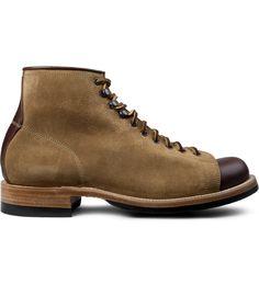 Yuketen Tan Polish Work Boots