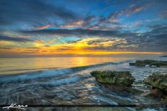 Sunrise at Coral Cove Park Tequesta Florida