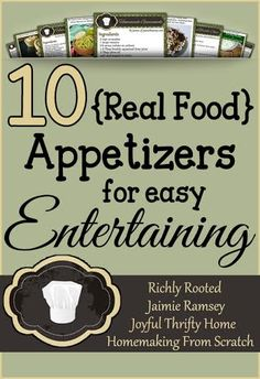 This printable recipe card collection includes 10 delicious real food appetizers for hospitality and entertaining! Healthy Eating Tips, Clean Eating Recipes, Healthy Snacks, Appetizer Recipes, Snack Recipes, Appetizers, Printable Recipe Cards, Free Printable, Real Food Cafe