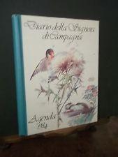 DIARIO DELLA SIGNORA DI CAMPAGNA AGENDA 1984