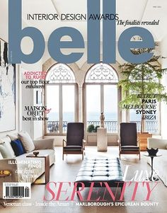 #Belle #2016 #May #magazines #covers #realconnections #style #details #home #decorate #inspiration #renovate #design #interiors #serenity