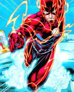 The Flash - Brett Booth Kid Flash, Flash Art, Flash Barry Allen, Flash Comics, Marvel Dc Comics, Comic Manga, Comic Art, Dc Speedsters, Superman
