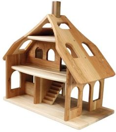 Cherry Wood Dollhouse