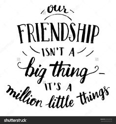 Quote On Friendship Collection friendship hand lettering and calligraphy quote stock vector Quote On Friendship. Here is Quote On Friendship Collection for you. Quote On Friendship you find a special friend great friendship quote special. Quotes Distance Friendship, Famous Friendship Quotes, Friendship Letter, Quotation On Friendship, Cute Quotes On Friendship, Small Quotes On Friendship, Thoughts On Friendship, Instagram Quotes Friendship, Best Friendship Day Quotes