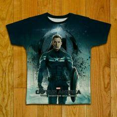 Kaos The Avenger - Captain America  Buy Now: https://www.tokopedia.com/bigbullstudio/kaos-the-avengers-captain-america-bb242  #kaos #kaosfullprint #kaoscewek #kaospolos #theavengers #bigbullstudio