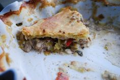 Pheasant Pie -- perfect for Game of Thrones date night or viewing party! (you can substitute with chicken)