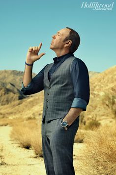 Kevin Spacey: 'House of Cards' Star on Why He Won't Play Carson; the Right Way to Say 'F--- Off' - Hollywood Reporter // Sexiest non-sex symbol in Hollywood! #spacey