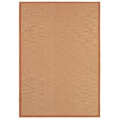 Shaw Living Brooke Coral 8 ft. x 10 ft. Indoor/Outdoor Area Rug - 3K34402600 at The Home Depot In coral  $209