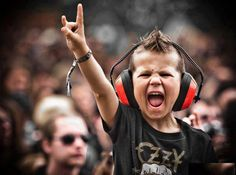 Ozzy or NOT, we LOVE TO ROCK and hard...  we start them YOUNG! @HRC_Malta #hardrockRewards
