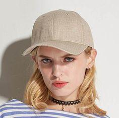 Simple style baseball cap for women UV protection sun hat. Girl Baseball  CapPlain ... e971d33e3e4e