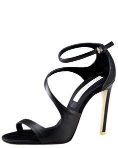 Stella McCartney Asymmetric Strappy Sandal