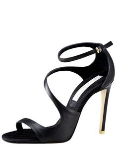 Asymmetric Strappy Sandal by Stella McCartney • Bergdorf Goodman.