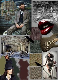 Personal mood board about interests in 'what in my wardrobe', fabrics. My influence in styling is music rock and roll. How To Take Photos, My Wardrobe, Mood Boards, Rock N Roll, Tweed, Identity, Take That, Concept, Fictional Characters