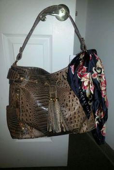 designer handbags shoulder tote purse alligator Embossed leather with scarf Tote  Purse, Emboss, Designer c250e14e18