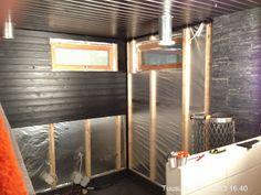 Sauna Unterkonstruktion und Dämmung Sauna, Room, House, Furniture, Home Decor, Bedroom, Decoration Home, Home, Room Decor