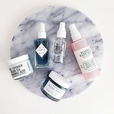 lapis oil and blue tansy mask hanging out with @youthtothepeople @ourcitylights #cleanbeauty #greenbeauty