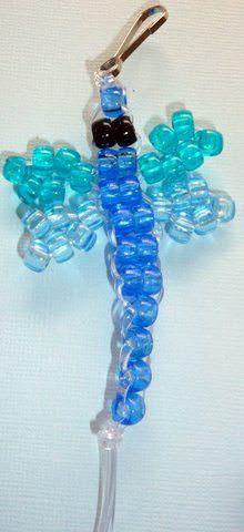 dragonfly beady buddy made by racelyn pony bead