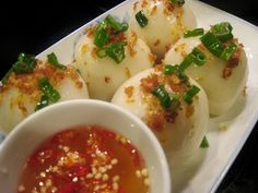 """It is true that """"Banh it"""" is a must try specialty of the Central Region in Vietnam!"""