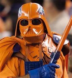 Gotta Love the Denver Broncos Darth Vader!Even Darth Vader goes for the Broncos!!!