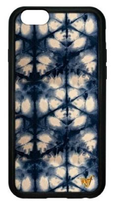 Wildflower Cases Blue Indigo wf Emblem - iPhone Case - Curate Boutique