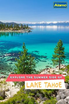 Planning a Lake Tahoe summer vacation? Whether you want to visit South or North Lake Tahoe this summer, Alamo has 11 things you should see and do. Plan your Lake Tahoe summer now. Vacation Places, Vacation Destinations, Vacation Trips, Dream Vacations, Vacation Spots, Places To Travel, Places To See, Summer Vacations, Vacation Packages