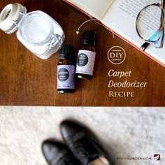 Simple DIY Essential Oil Carpet Deodorizer