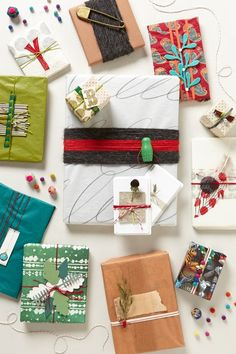 #Gift #Wrap #Holiday #AnthroBlog