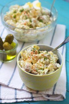 Greek Yogurt Potato Salad | The Baker Chick | Bloglovin'