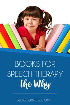 Why use books in speech therapy? Read five reasons why the SLP loves books!