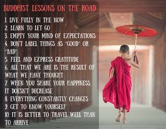 10 Buddhist lessons to guide you when you travel | 203Challenges