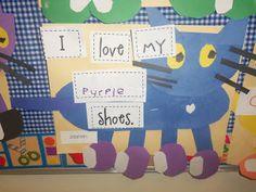 Mrs. Wood's Kindergarten Class: Pete The Cat Rocking in my School Shoes