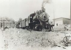 The last train to ever leave Stuart, Va is headed by # 22. The next day, removal of trackage between Stuart and Fieldale began. Circa 1942.