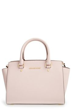 Bought this and I'm in love <3 MICHAEL Michael Kors 'Medium Selma' Leather Satchel available at #Nordstrom