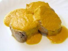 Recetas Monsieur Cuisine: Solomillos con salsa de naranja a la canela