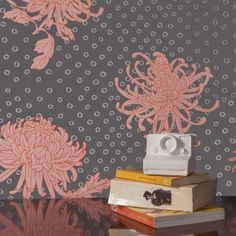 Slate KANOKO pattern from Relativity Textiles #bringtheworldhome photo credit: Maurene Cooper