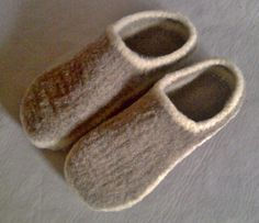 Wool Slippers Free Shipping wool shoes custom order von quiltery