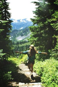 How I feel when hiking ... Free ..