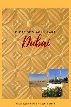 Dicas de viagem para Dubai , indice de posts da viagem a Dubai.