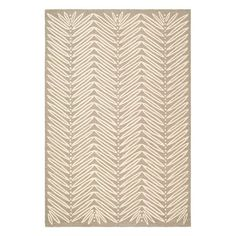 Have to have it. Martha Stewart by Safavieh,MSR3612A Chevron Leaves Area Rug - Chamois Beige - $382.99 @hayneedle