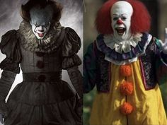 IT - Pennywise 2017 vs Pennywise 1990
